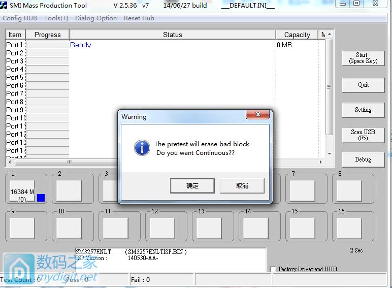 忆捷16量产失败,求教,已解决,SM3257ENBB量产成功