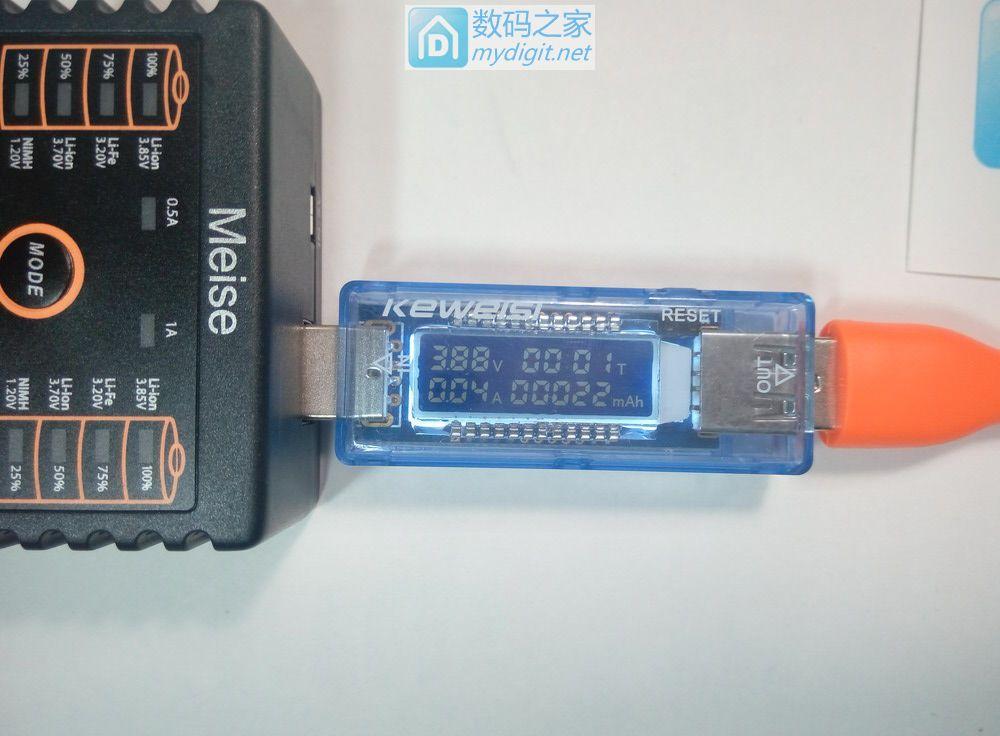发现论坛魅色双槽充电器的一个奇怪问题,USB输出电压低,大家看是不是通病?