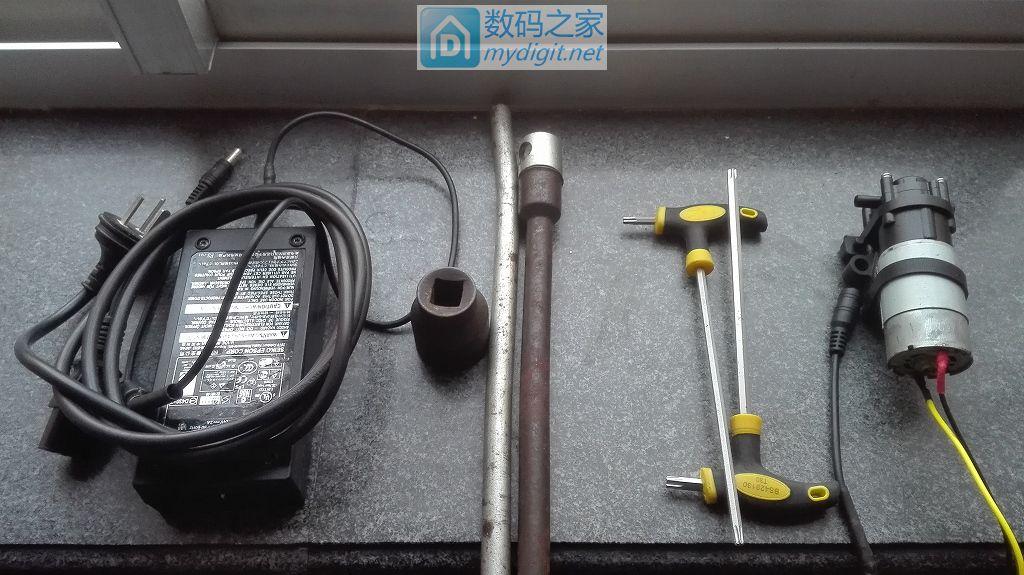 用废弃的齿轮泵DIY抽油泵给世嘉换机油