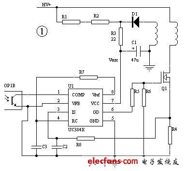 UC3845电路图,借用