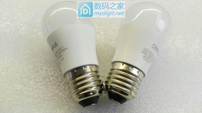 拆解测评OPPLE优惠装心悦系列3.5W LED球泡