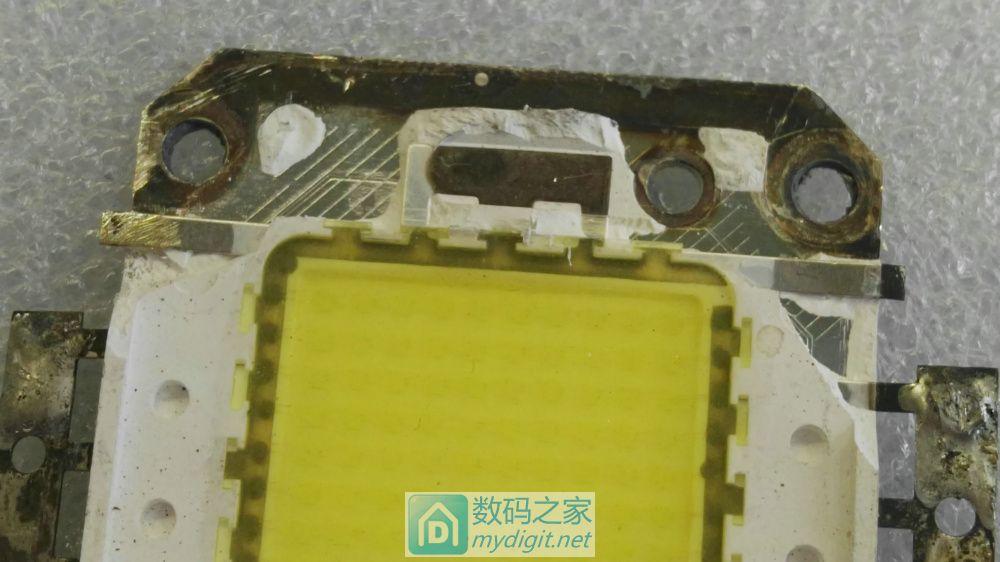 芯片级拆解!100W LED集成灯珠,了解结构和相关知识