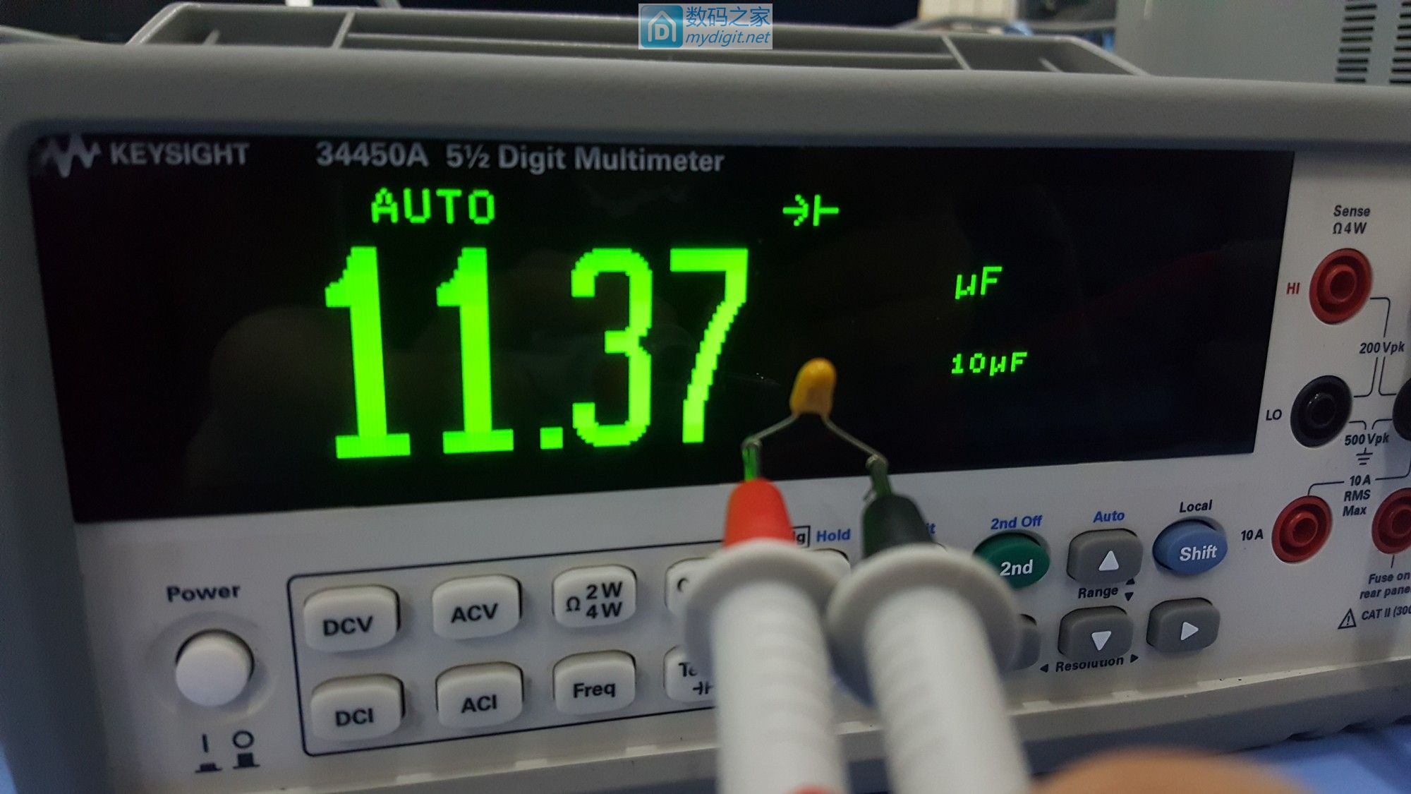 安捷伦KEYSIGHT 34450A台式万用表 测试&简单拆机