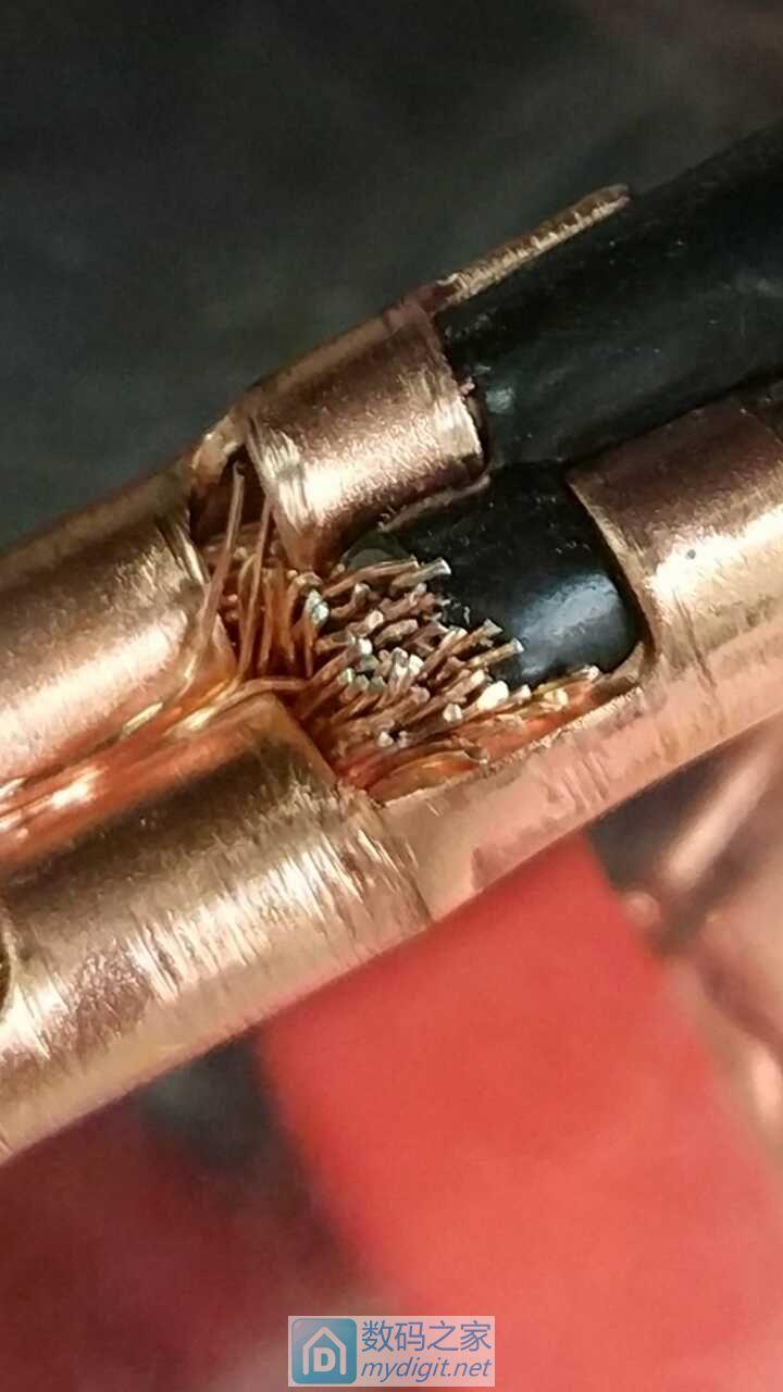 前两天的纯铜搭火线到了,铝镀铜!怎么破?