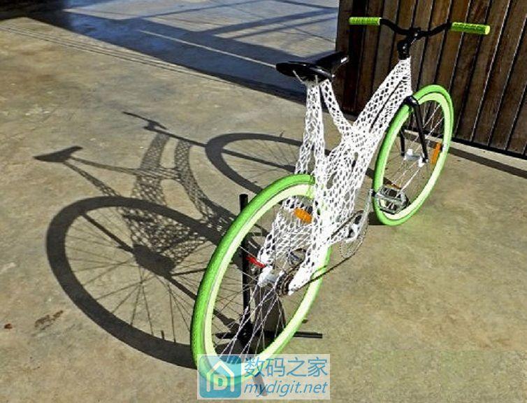 超漂亮3D打印自行车!