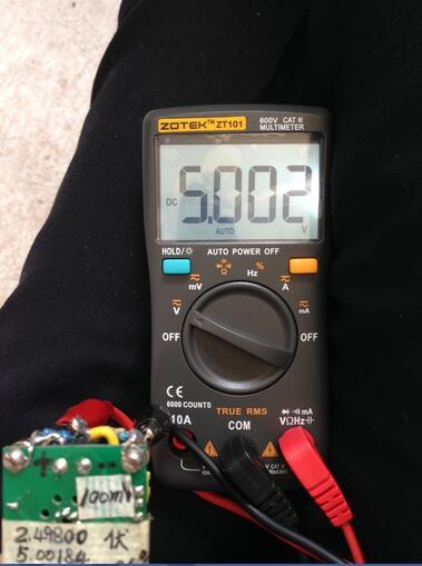 升级9999字,校准后0.02%,精度高,速度快,可玩性高,众仪ZT101万用表升级校准