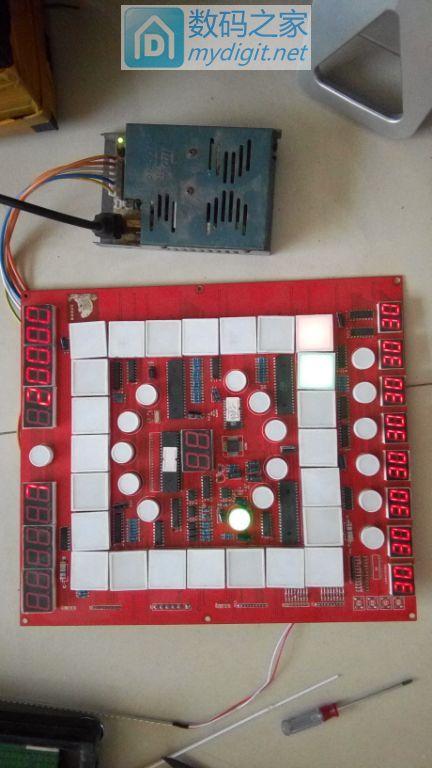 老虎机主板和电源一共2