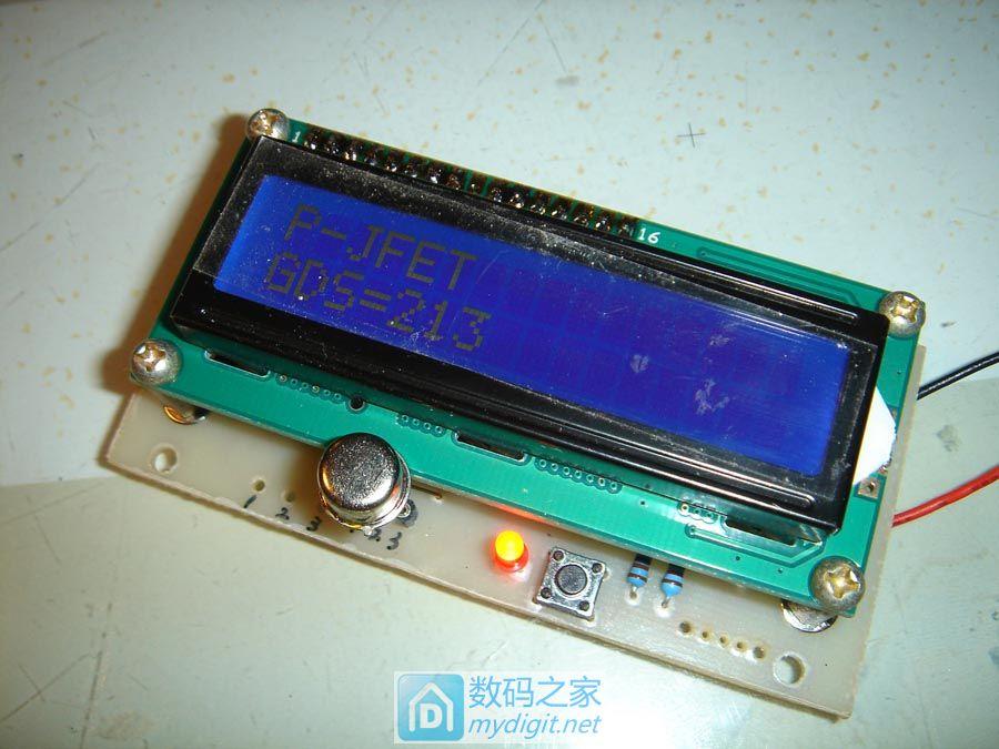 自制M8晶体管测试仪器