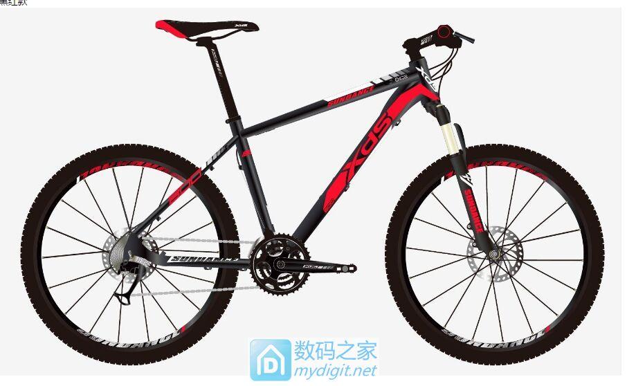 喜德盛逐日山地车改装为电动自行车