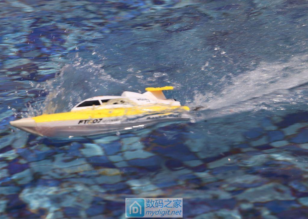 灌蜡改造2.4G竞赛玩具船,失败求助