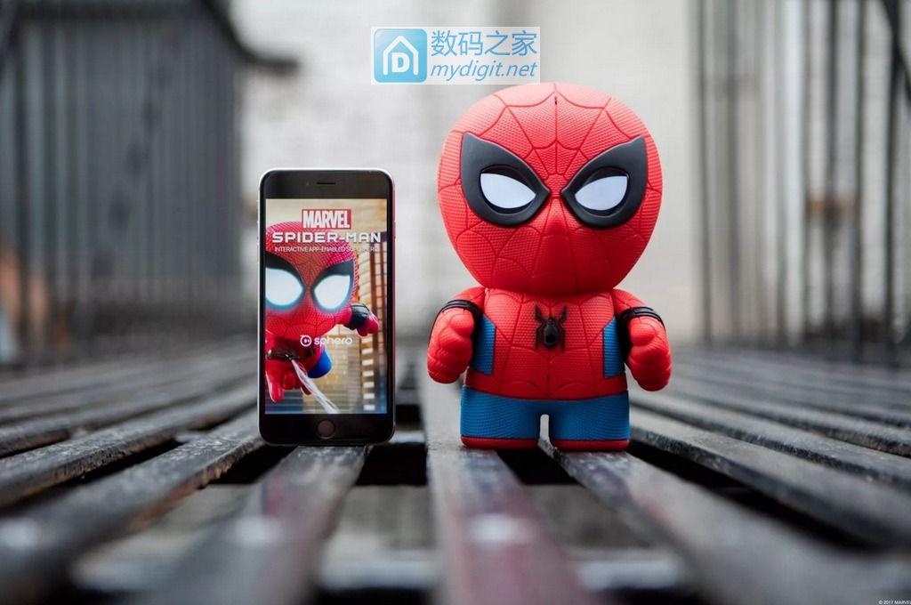 """配手机可解锁神秘技能 Sphero""""蜘蛛侠""""伪物联网故事机"""