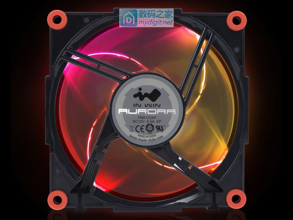 眼科医院创收主力推手 迎广AURORA FAN软件版RGB风扇