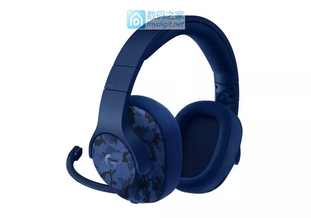 看脸剁手党整一个?罗技G433 & G233好声音游戏耳机发布