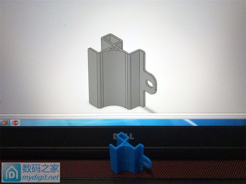 3D打印一个小零件,电脑配件,我也不知道该发哪个版块!