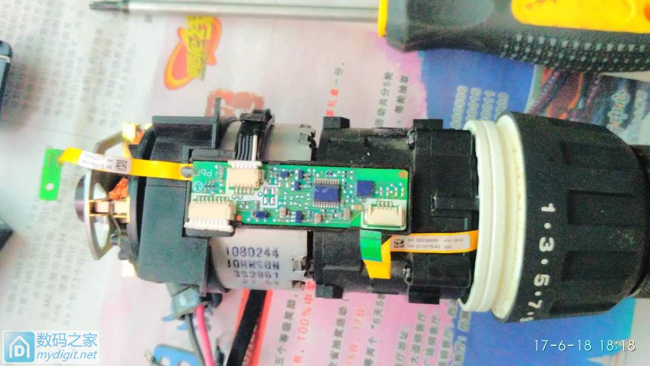 喜利得新款冲击钻SF 6H-A22高速抖动装配故障排除