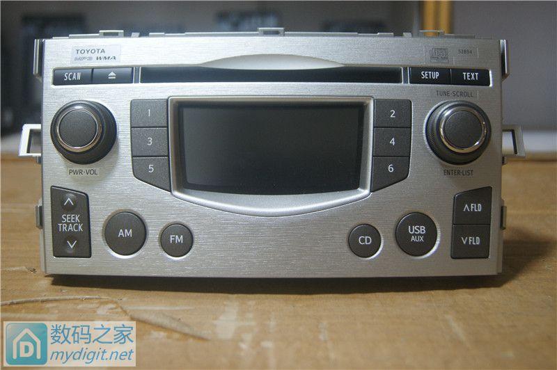 出绝版丰田逸致CD机,