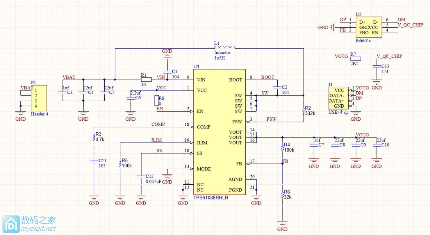 分享最近折腾几片DC-DC芯片的经验,QC3.0快充原理(TPS61088 SX1308 PT4103)