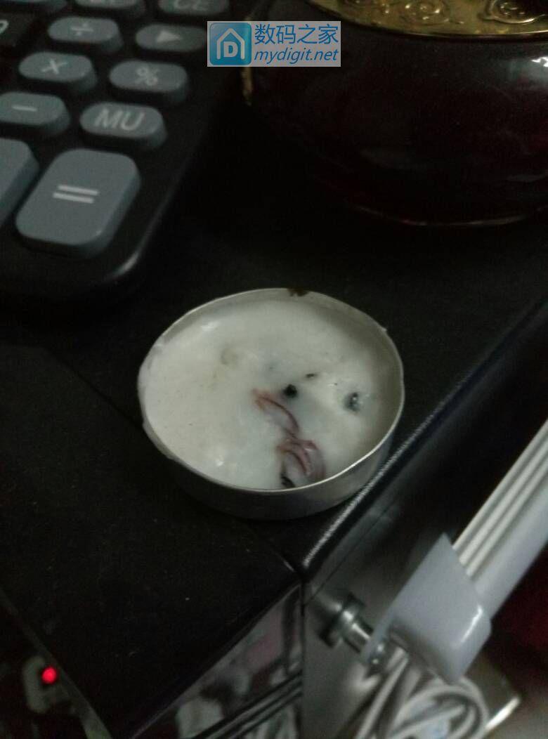 昨晚炒菜吃饭停电了 做个蜡烛
