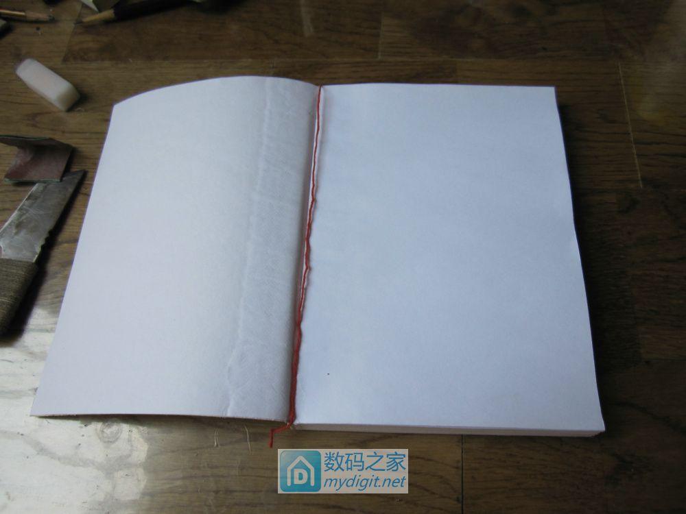 一步一步带你制作线装日记本!