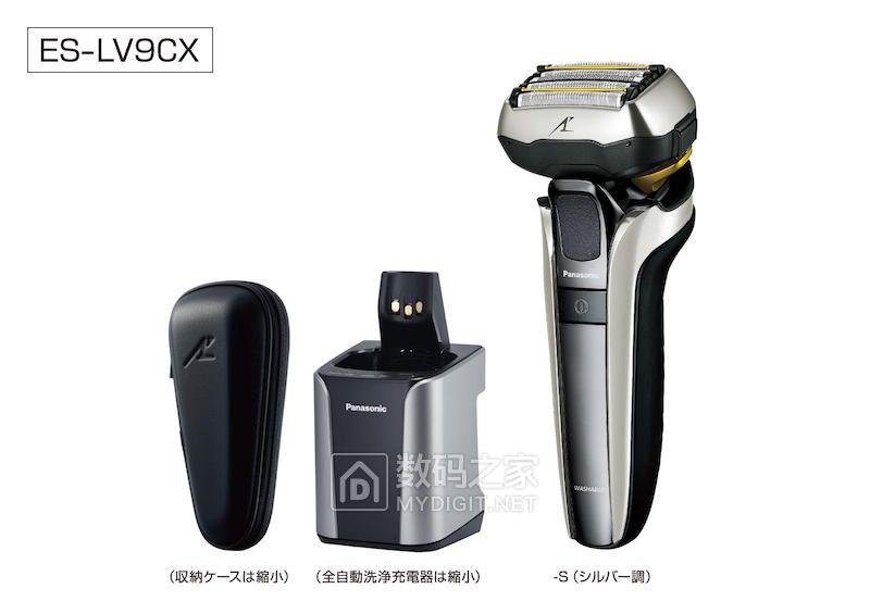升级5维浮动刀头 往复式剃须刀新标杆松下ES-LV9CX发售