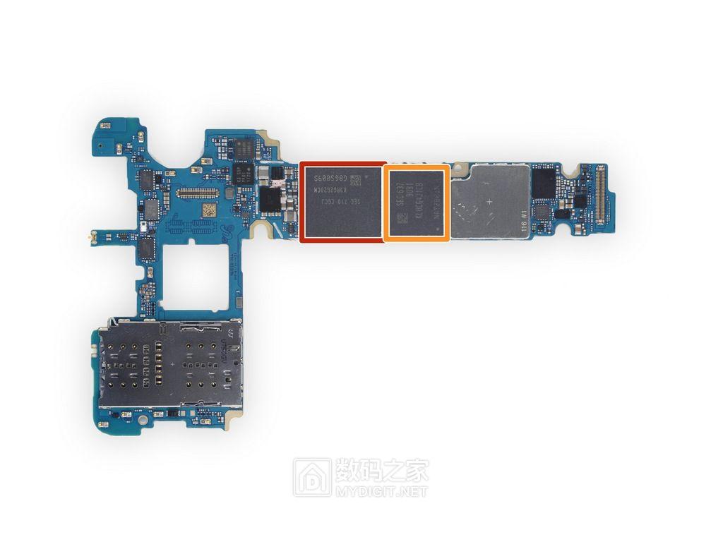 依然值得八方点赞的美丽做工 三星Galaxy Note Fan手机拆解