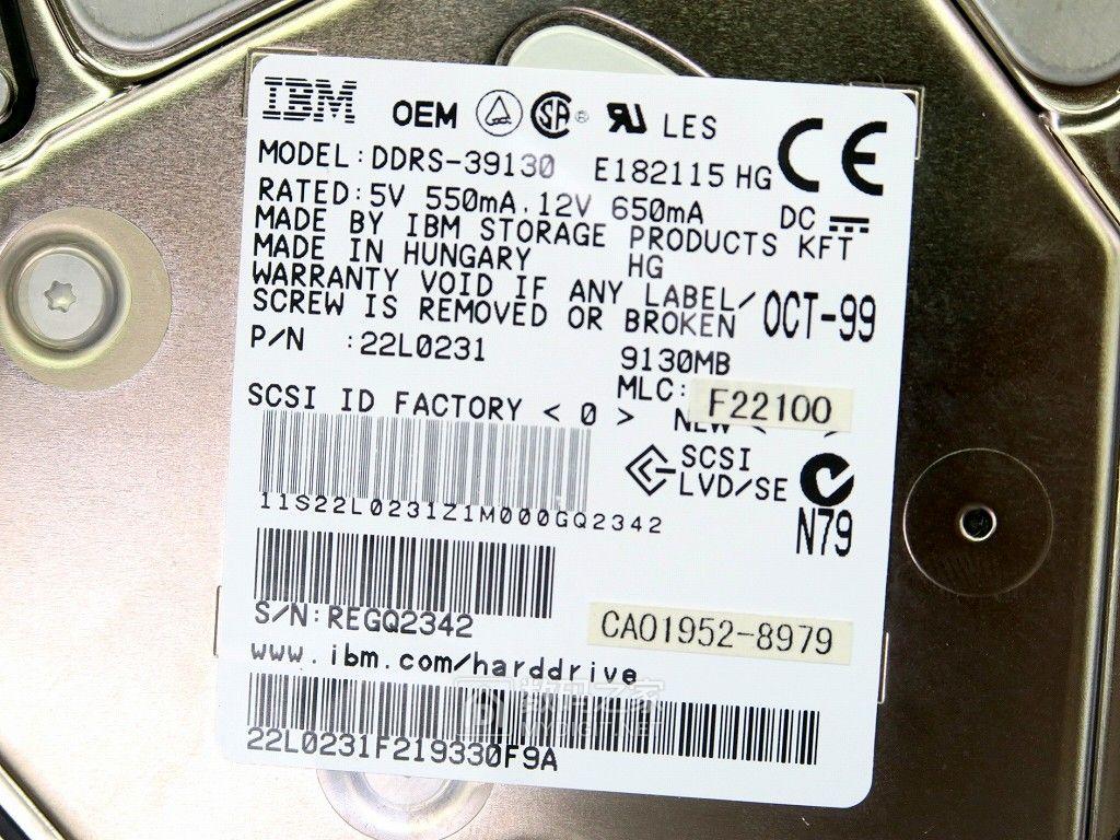 新到让人无法抗拒!90年代神盘IBM DDRS-39130重回秋叶原