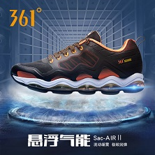 361度跑步鞋男鞋夏季透