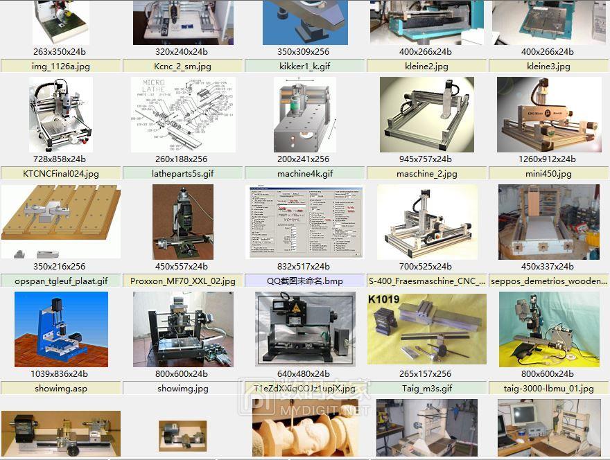 分享各种雕刻机的图纸,照片,文档。