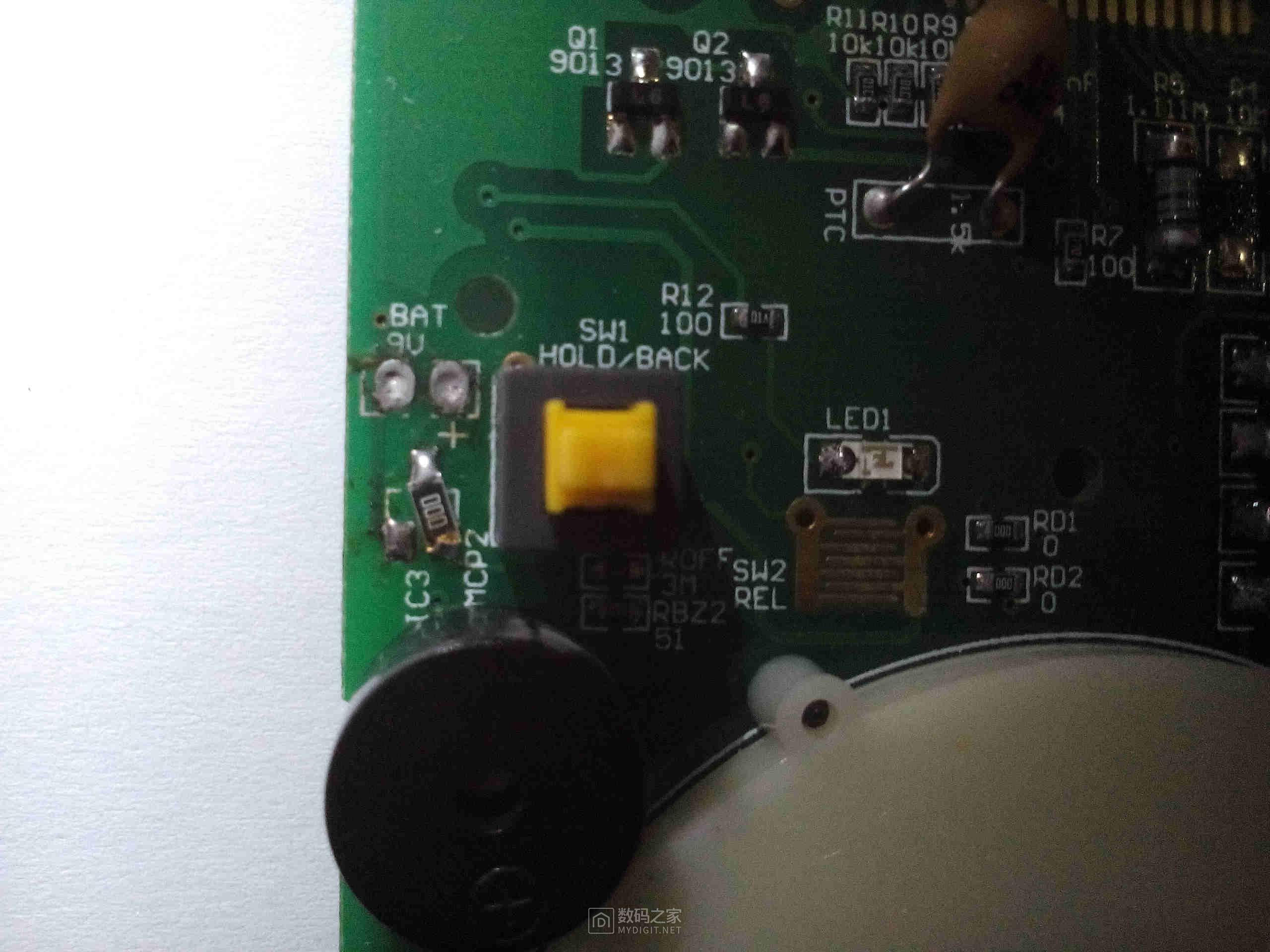 高效改万用表锂电池供电