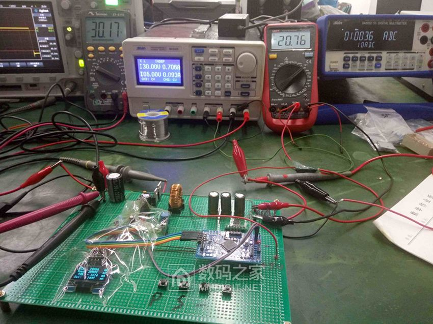 STM32直接控制MOS的极高效率的电源设计