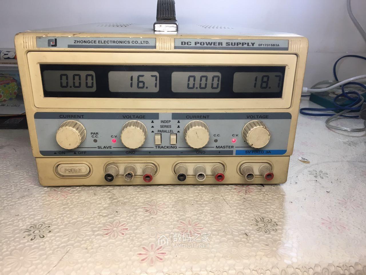 30V3A三路可调电源,白