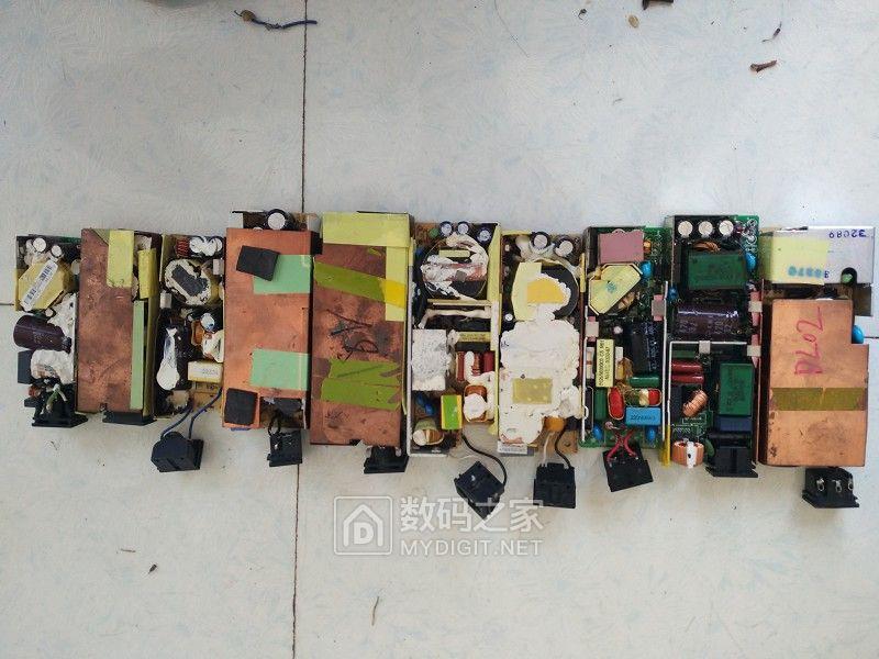 包邮,包好,16v-19v进口原装电源裸板