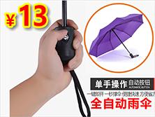 只要13元!全自动雨伞
