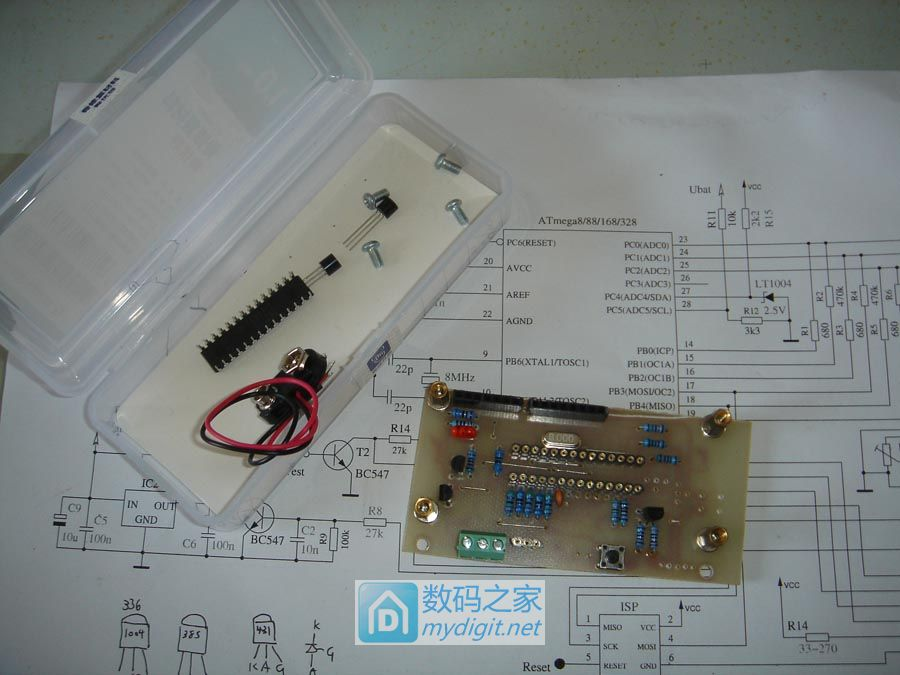 自制新版M328元件测试仪