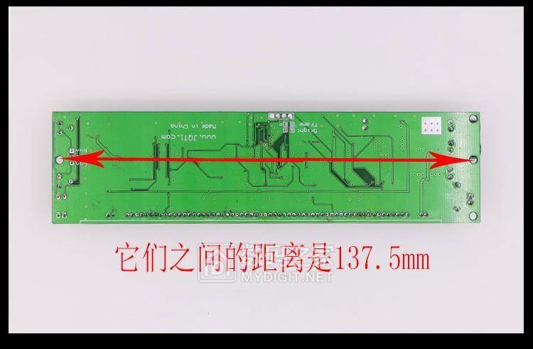 采用25MM02VFD屏的音乐频谱显示器