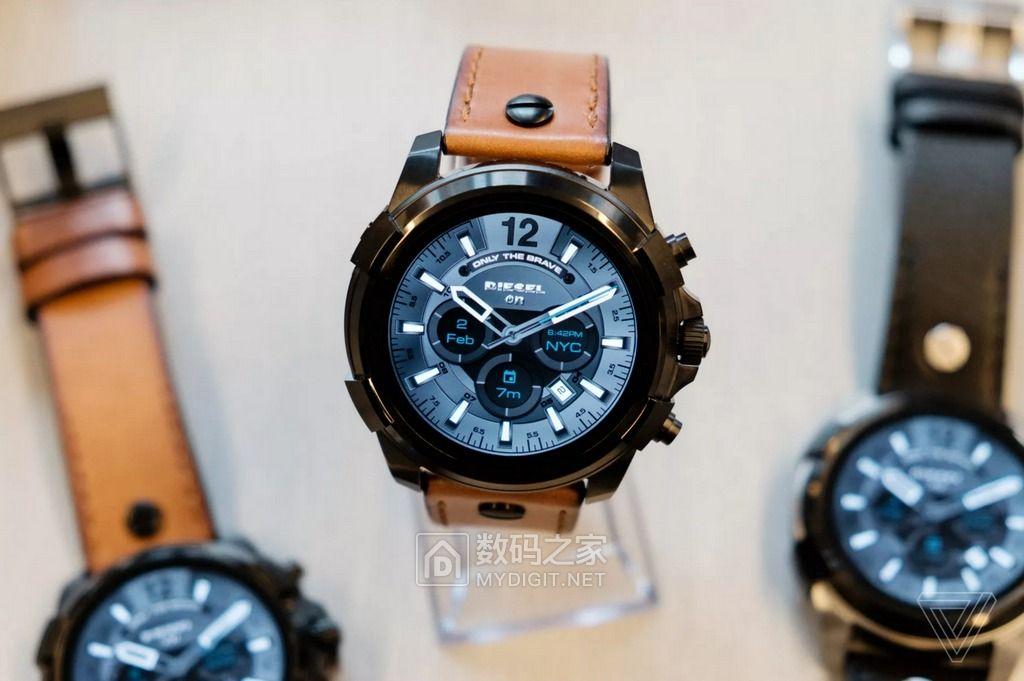 又一时装品牌前来搅局 迪塞尔发布 On Full Guard 智能腕表