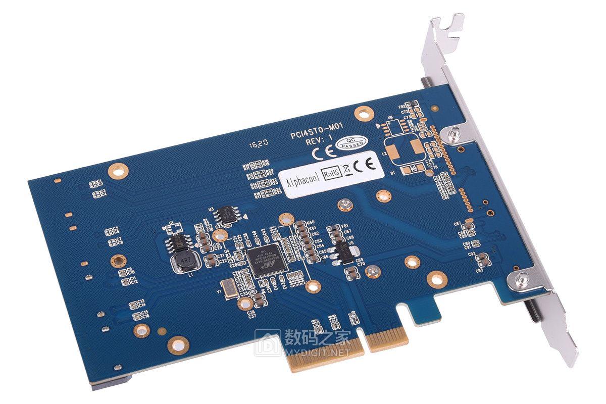 迟来的爱 Alphacool 新推 HDX-5 半主动温控SSD RAID卡