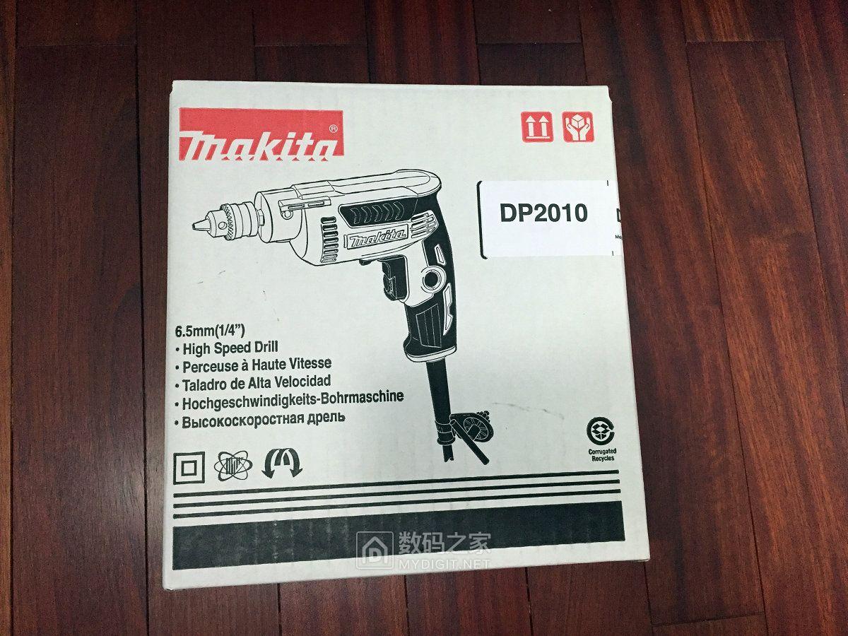 开个箱,晒个小巧的交流电钻,牧田DP2010