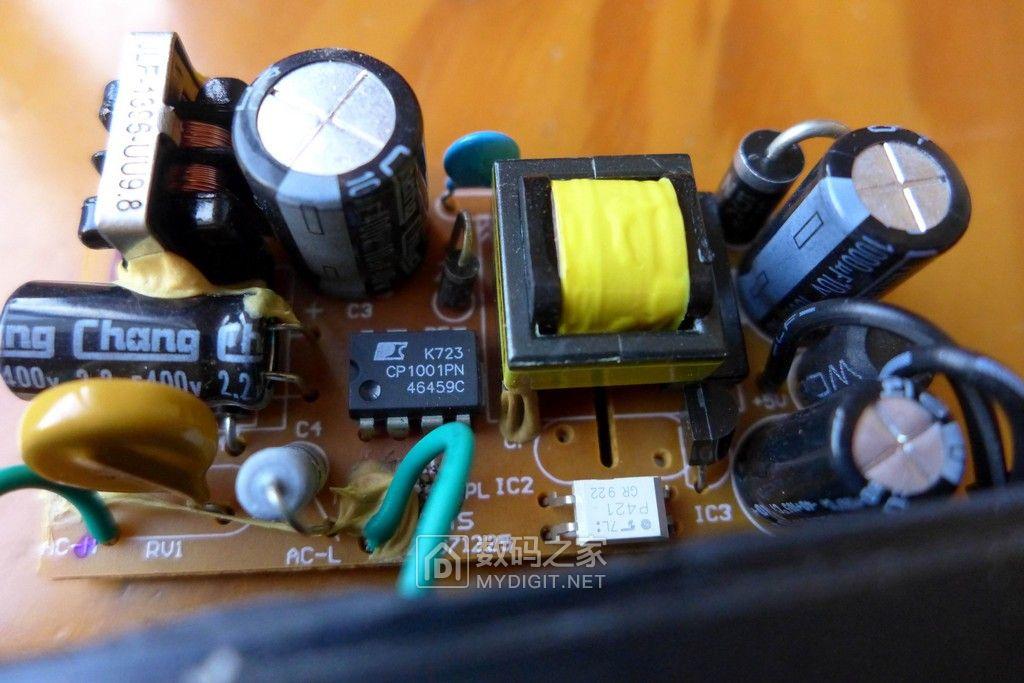 只有两个元件的手机充电电流指示灯电路[原创]