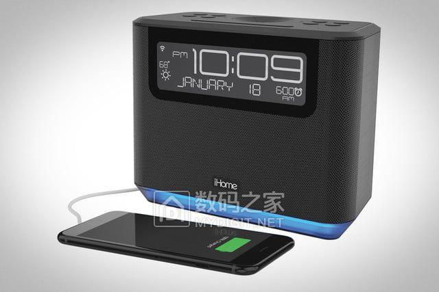 唱歌只是它副业iHome 推品牌首款人工智能音箱 iAVS16