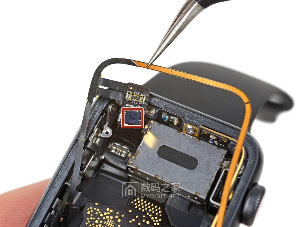 坏了只有当垃圾丢掉的命 苹果 Apple Watch Series 3 一手拆机