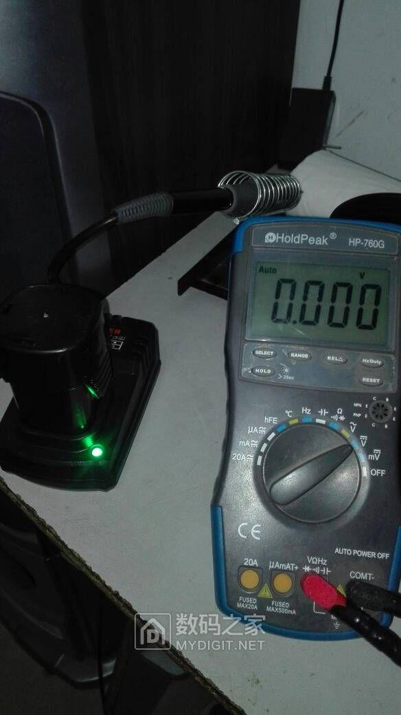 龙韵16.8V手电钻电池有问题吗?