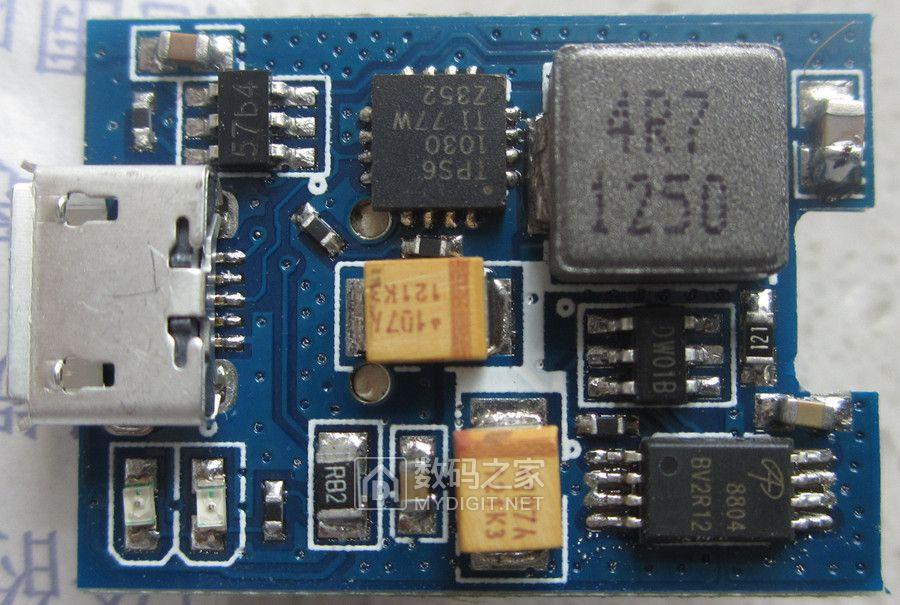 tps61030的移动电源,