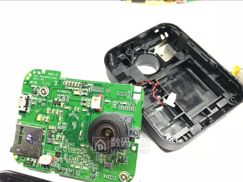 360行车记录仪第1代加装蓝牙按键加装无线按键 记录紧急视频更方便