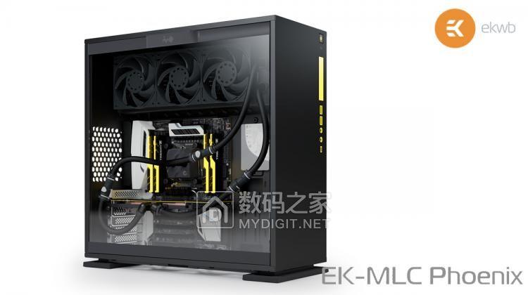 黑化防腐+秒速拆装 EKWB真模块化水冷套件EK-MLC Phoenix