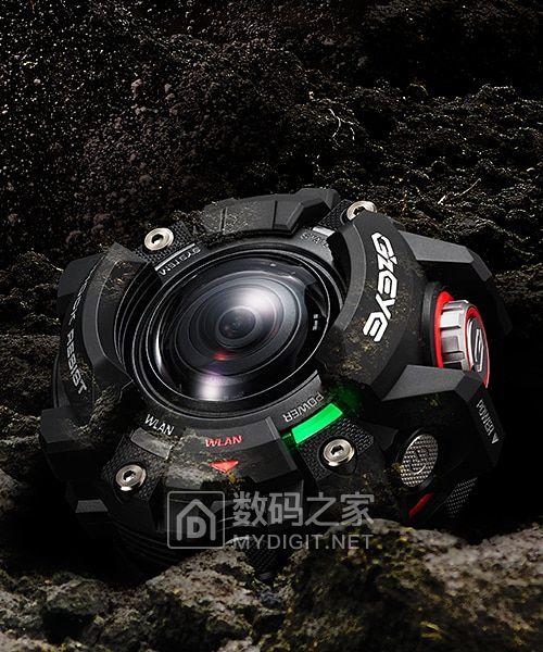 三千RMB还有找 卡西欧正式发表G-Shock运动相机GZE-1