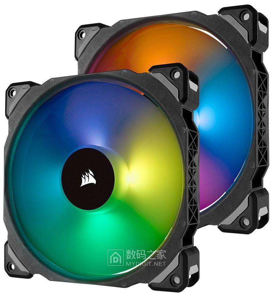天生丽质祛热小能手 海盗船发布 ML PRO RGB 电脑散热风扇
