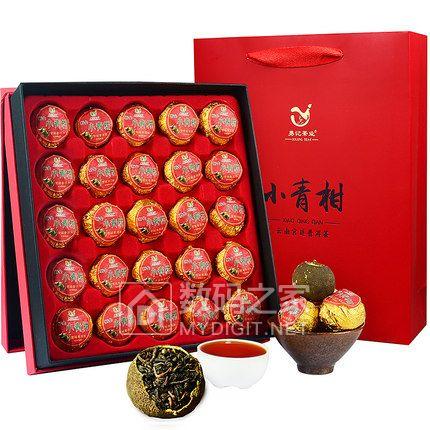 小青柑宫廷普洱老熟茶