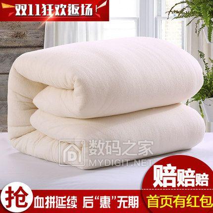 新疆长绒棉纯棉花被芯