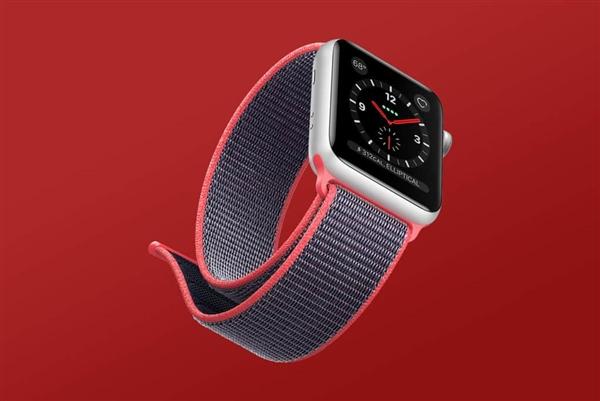 AppleWatch 3大爆发!苹果可穿戴设备重回世界第一